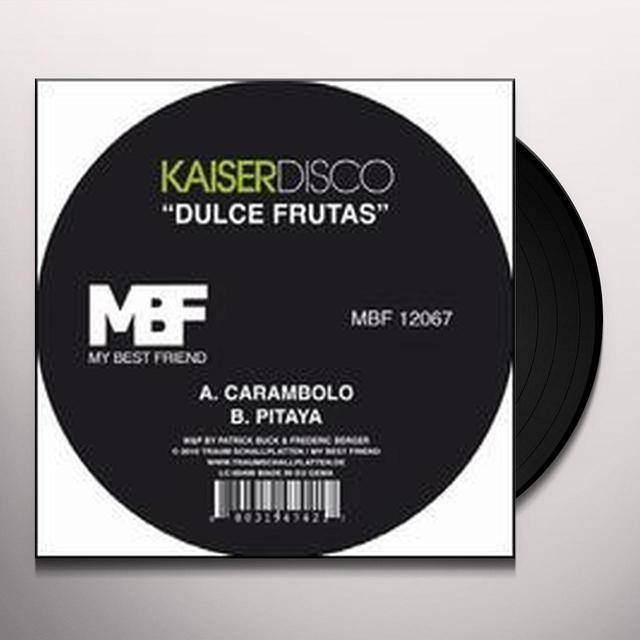 Kaiserdisco DULCE FRUTAS (EP) Vinyl Record