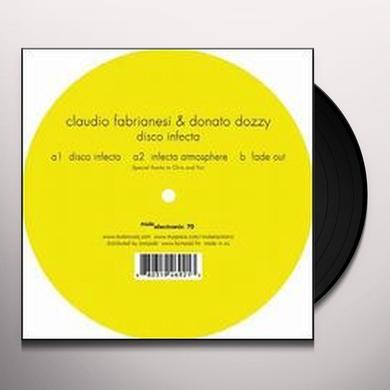 Claudio / Donato Dozzy Fabrianesi DISCO INFECTA (EP) (Vinyl)