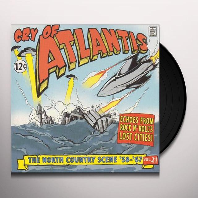 CRY OF ATLANTIS 2 / VARIOUS Vinyl Record