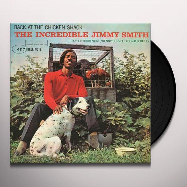 Jimmy Smith BACK AT THE CHICKEN SHACK Vinyl Record