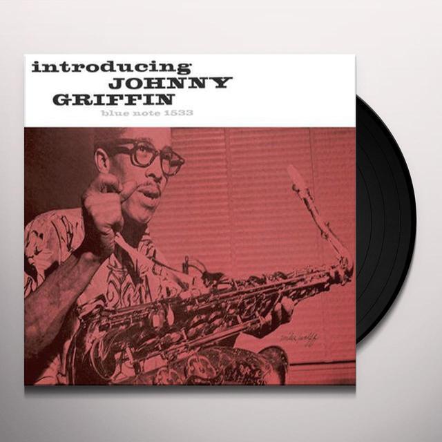 INTRODUCING JOHNNY GRIFFIN Vinyl Record - 180 Gram Pressing