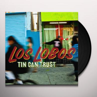 Los Lobos TIN CAN TRUST Vinyl Record