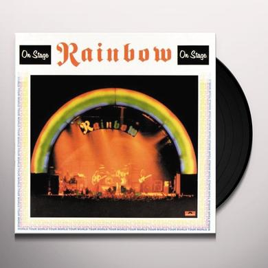 Rainbow ON STAGE Vinyl Record - 180 Gram Pressing
