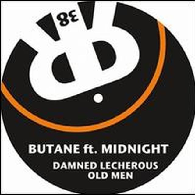 Butane DAMNED LECHEROUS OLD MEN (EP) Vinyl Record