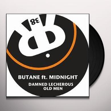 Butane DAMNED LECHEROUS OLD MEN (EP) Vinyl Record