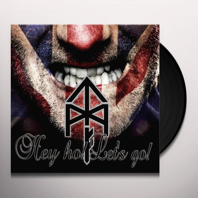 Tattooed Mother Fuckers HEY HO LET'S GO Vinyl Record