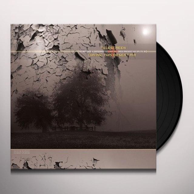 Desert Air / Teles KOI SPLITS SERIES 2 Vinyl Record