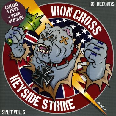 Iron Cross / Keyside Strike KOI SPLITS SERIES 5 Vinyl Record