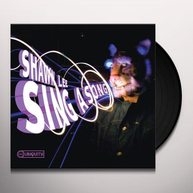 Shawn Lee SING A SONG Vinyl Record