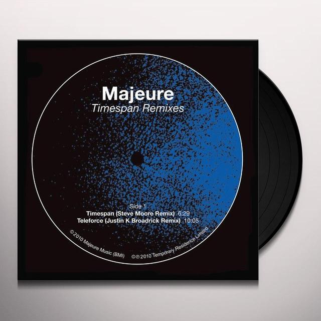 Majeure TIMESPAN REMIXES Vinyl Record - Limited Edition
