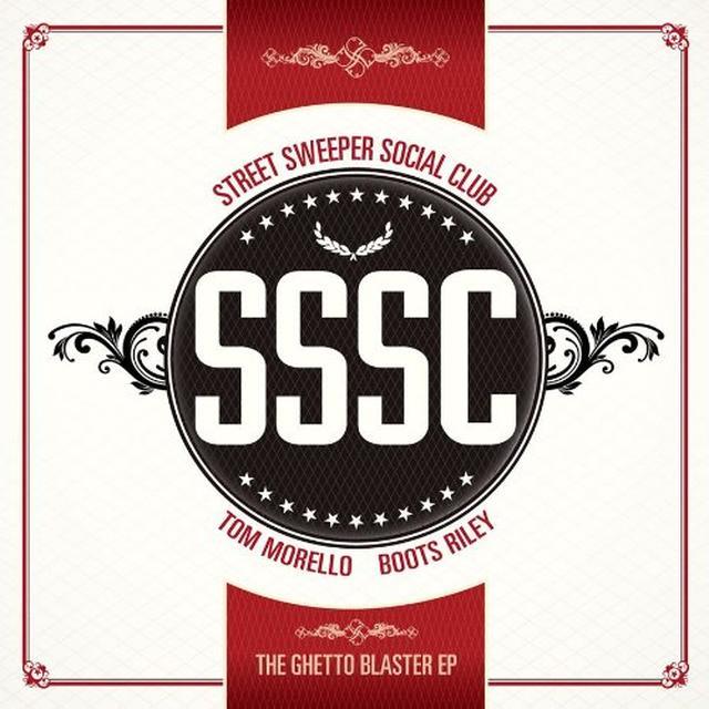 Street Sweeper Social Club GHETTO BLASTER (EP) Vinyl Record