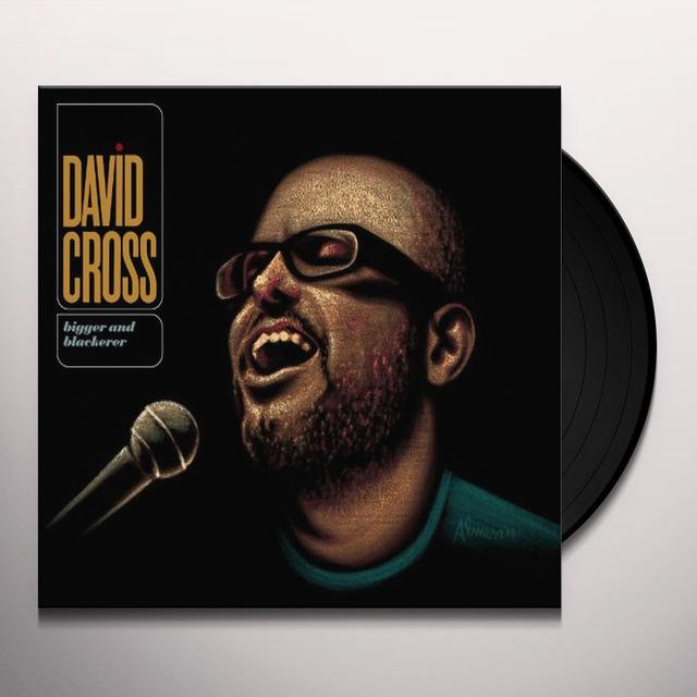 David Cross BIGGER & BLACKERER (W/DVD) Vinyl Record - Limited Edition, MP3 Download Included