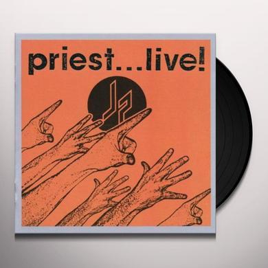Judas Priest PRIEST LIVE Vinyl Record - 180 Gram Pressing