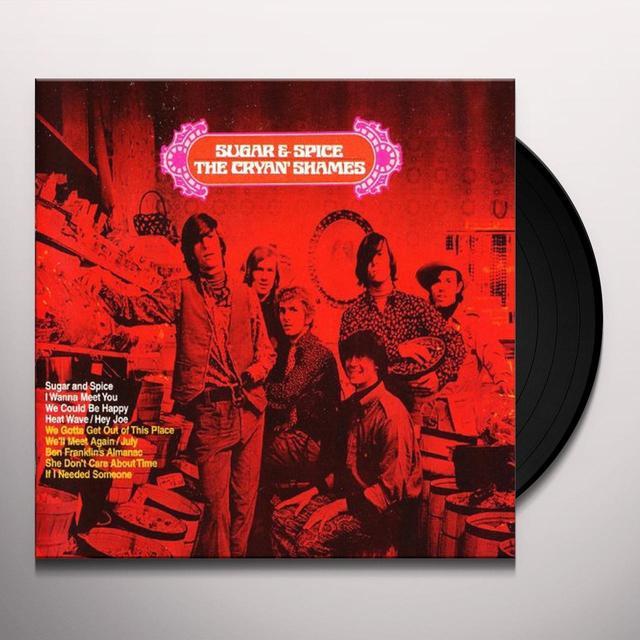 Cryan Shames SUGAR & SPICE Vinyl Record