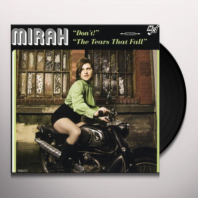 Mirah DON'T / THE TEARS THAT FALL Vinyl Record