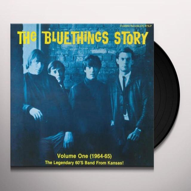 BLUE THINGS STORY 1 Vinyl Record