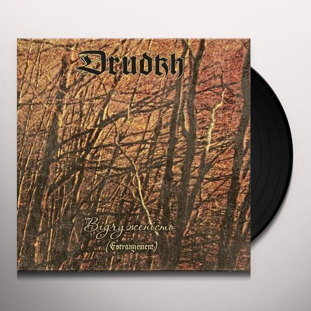 Drudkh ESTRANGEMENT Vinyl Record - Limited Edition, Remastered, Digital Download Included