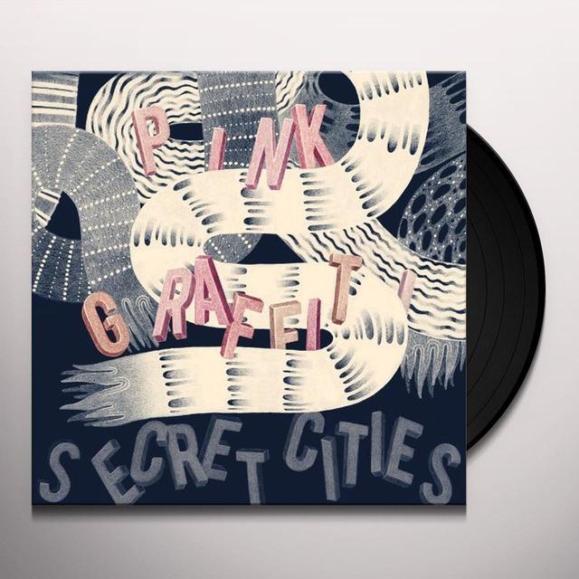 Secret Cities PINK GRAFFITI Vinyl Record