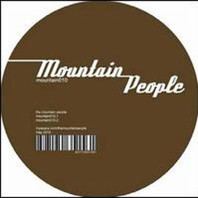Mountain People MOUNTAIN010 Vinyl Record