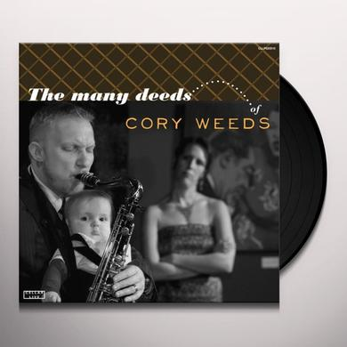 Cory Weeds / Joey Defrancesco MANY DEEDS OF CORY WEEDS Vinyl Record