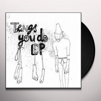 Sierra Sam THINGS YOU DO EP (EP) Vinyl Record