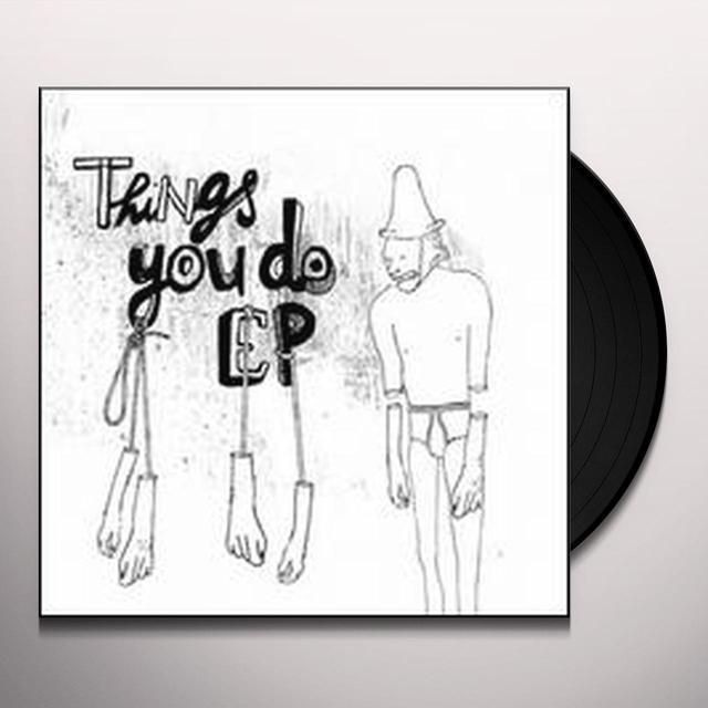 Sierra Sam THINGS YOU DO EP Vinyl Record