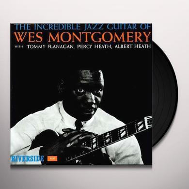 Wes Montgomery INCREDIBLE JAZZ GUITAR OF Vinyl Record