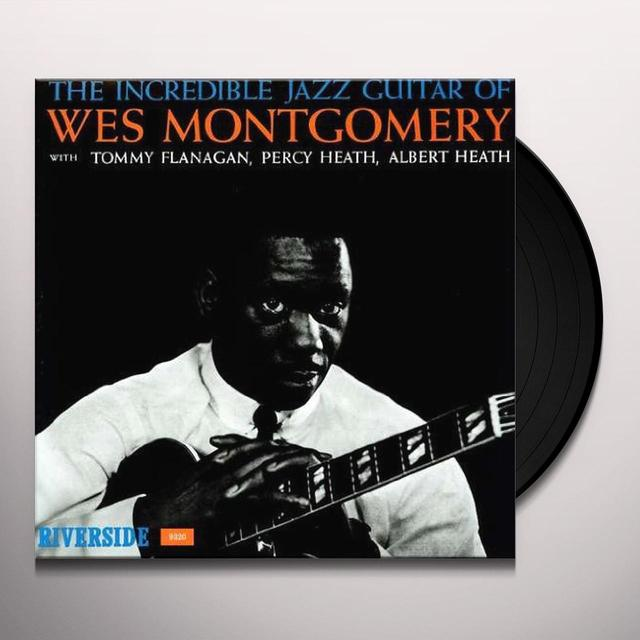 Wes Montgomery INCREDIBLE JAZZ GUITAR OF Vinyl Record
