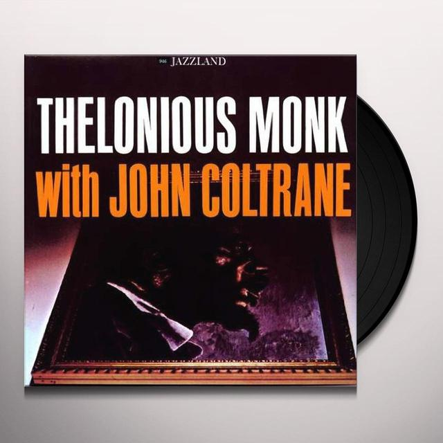 Thelonious Monk WITH JOHN COLTRANE Vinyl Record