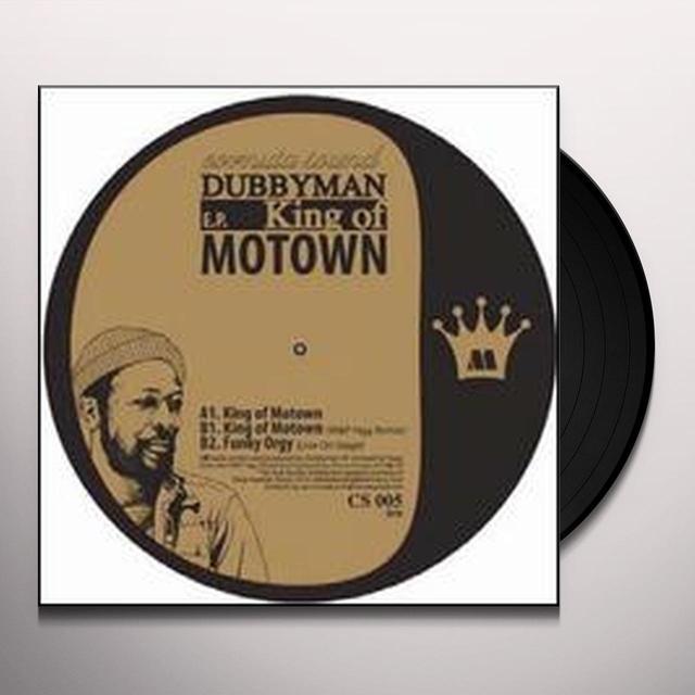 Dubbyman KING OF MOTOWN EP Vinyl Record