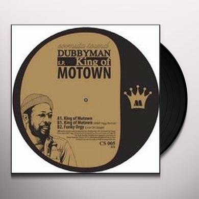 Dubbyman KING OF MOTOWN EP (EP) Vinyl Record