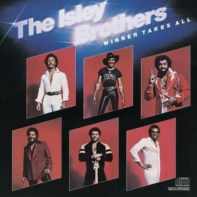 The Isley Brothers WINNER TAKES ALL Vinyl Record