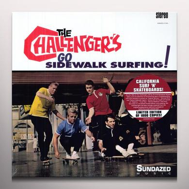 Challengers GO SIDEWALK SURFING Vinyl Record - Colored Vinyl, Limited Edition
