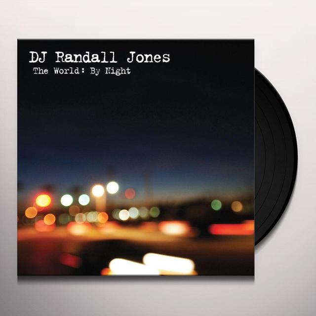 Randall Jones WORLD: BY NIGHT (Vinyl)