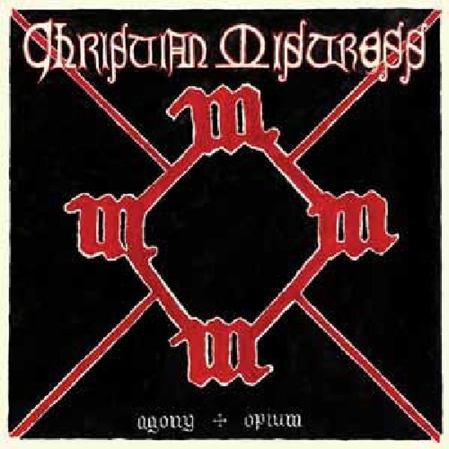 Christian Mistress AGONY & OPIUM Vinyl Record - White Vinyl