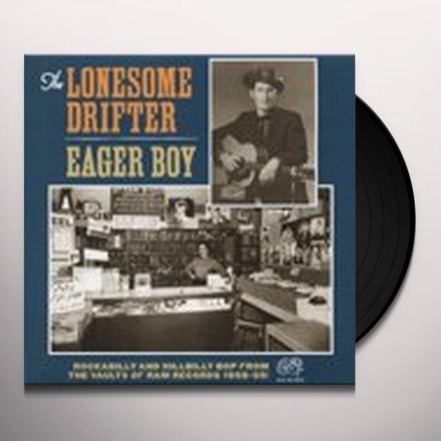 Lonesome Drifter EAGER BOY Vinyl Record