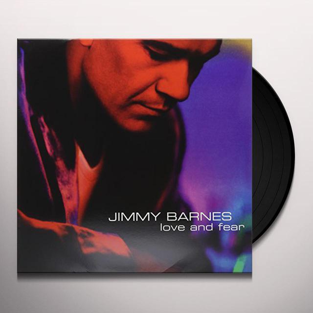 Jimmy Barnes LOVE & FEAR Vinyl Record