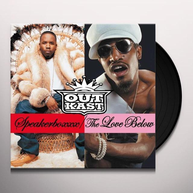 Outcast SPEAKERBOXXX / LOVE BELOW Vinyl Record - 180 Gram Pressing