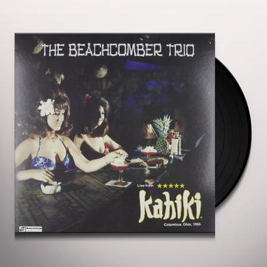Beachcomber Trio LIVE AT KAHIKI 1965 Vinyl Record