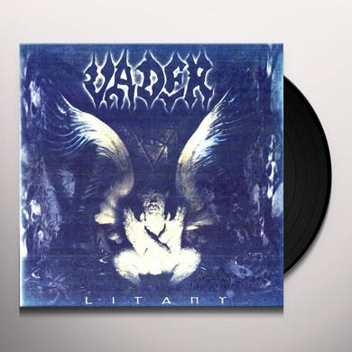 Vader LITANY Vinyl Record - Limited Edition, 180 Gram Pressing