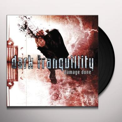 Dark Tranquillity DAMAGE DONE Vinyl Record - Limited Edition, 180 Gram Pressing