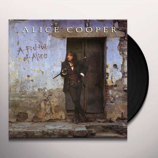 Alice Cooper FISTFUL OF ALICE Vinyl Record - Limited Edition, 180 Gram Pressing
