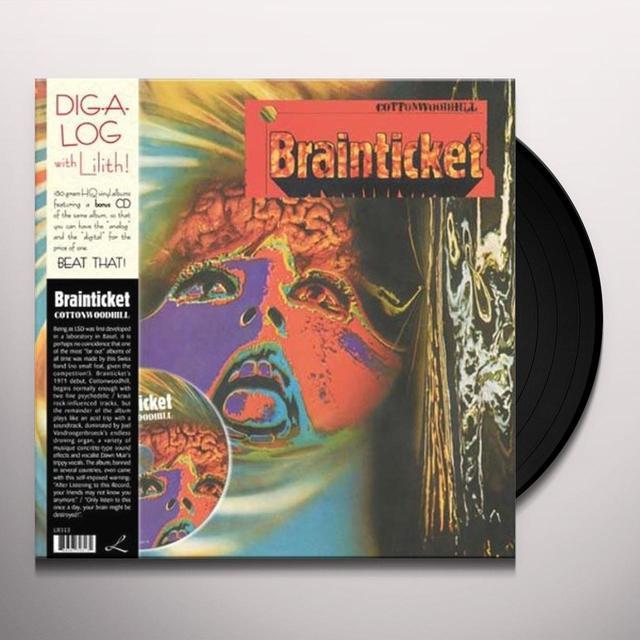 Brainticket COTTONWOODHILL Vinyl Record - 180 Gram Pressing
