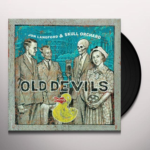 Jon Langford & Skull Orchard OLD DEVILS Vinyl Record - Limited Edition, Digital Download Included