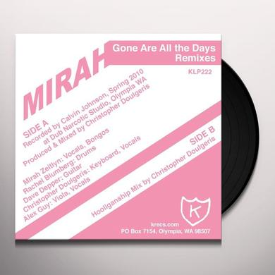 Mirah GONE ARE ALL THE DAYS Vinyl Record