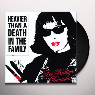 Rallizes Denudes HEAVIER THAN A DEATH IN THE FAMILY Vinyl Record