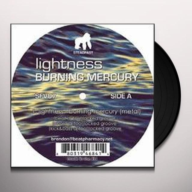 Lightness BURNING MERCURY Vinyl Record