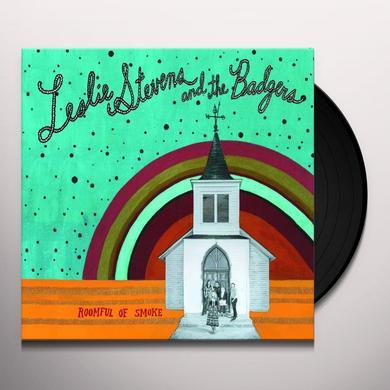 Leslie Stevens & Badgers ROOMFUL OF SMOKE Vinyl Record