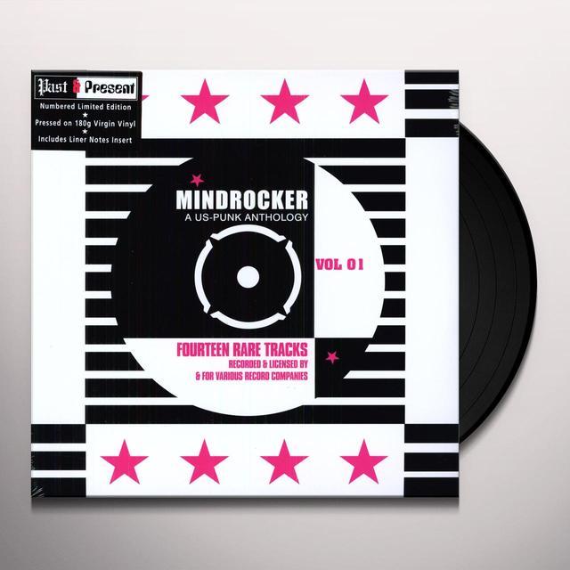 MINDROCKER: U.S. PUNK ANTHOLOGY 1 / VARIOUS Vinyl Record