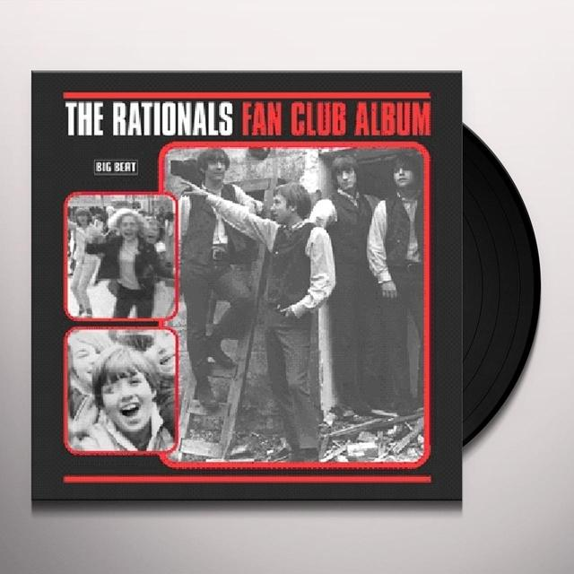 Rationals FAN CLUB ALBUM Vinyl Record